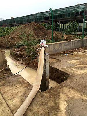 岩石井施工
